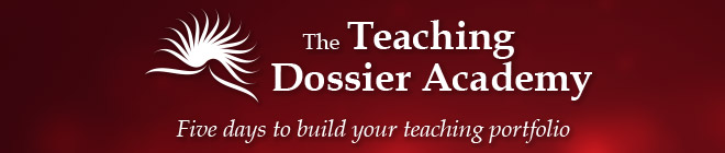 Teaching Dossier Academy